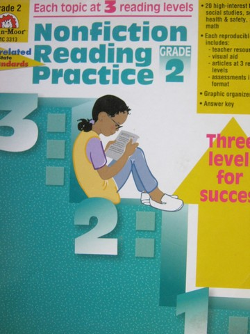 Nonfiction Reading Practice Grade 2 (P) by Kristen Kunkel