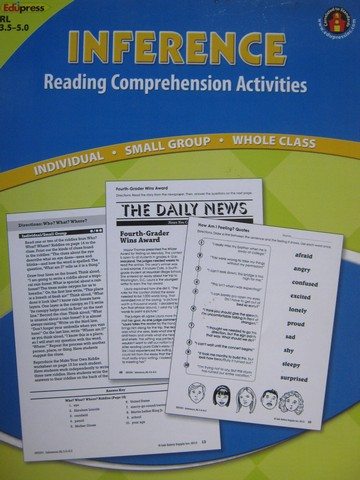 Inference Reading Comprehension Activities RL 3.5-5.0 (P)