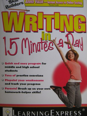 Junior Skill Builders Writing in 15 Minutes a Day (P)