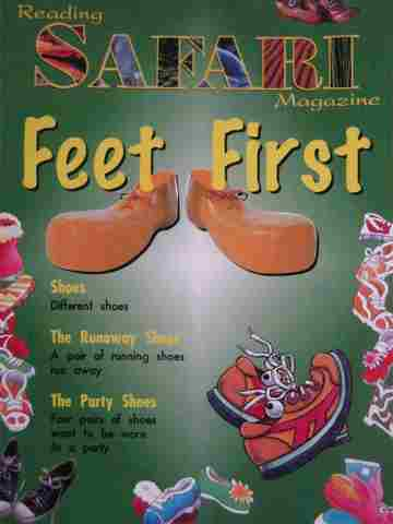 Reading Safari Magazine Feet First (P) by Lorain Day - Click Image to Close