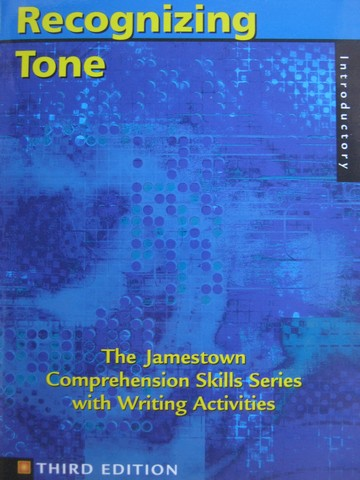 Recognizing Tone 3rd Edition Introductory (P)