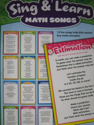 Sing & Learn Math Songs (Pk)