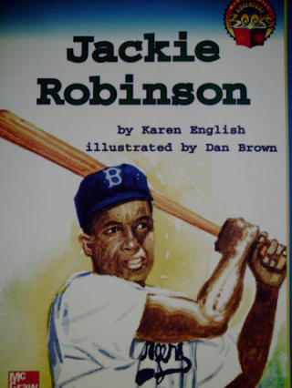 Adventure Books 2 Jackie Robinson (P) by Karen English