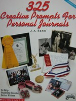 325 Creative Prompts for Personal Journals Grades 4-8 (P)