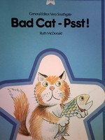 Blue Star Bad Cat - Psst! (P) by Ruth McDonald