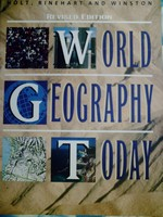 Holt World Geography Today Revised Edition (H) by Sager,
