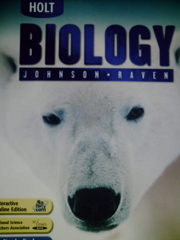 Holt Biology H By George B Johnson Peter H Raven