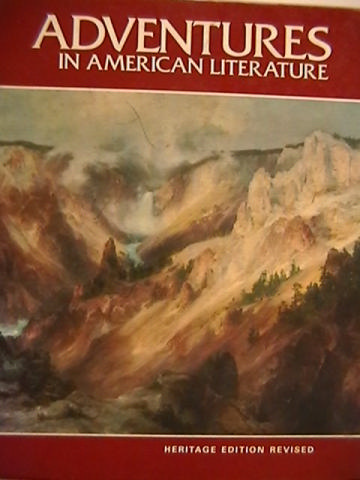 Adventures in American Literature Heritage Edition Revised (H)