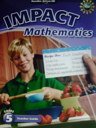 IMPACT Mathematics 5 Teacher Guide (TE)(Spiral) by Whitney