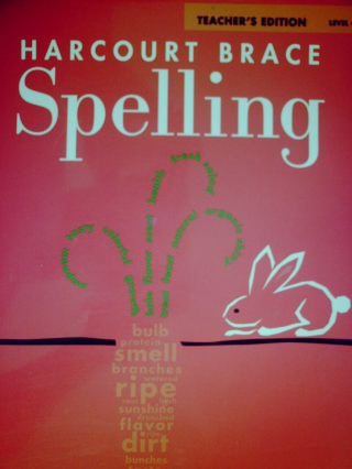 Harcourt Brace Spelling 4 TE (TE)(Spiral) by Carlson, Madden,