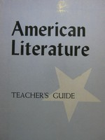 American Literature Teacher's Guide (TE)(P) by Adams, Wall,