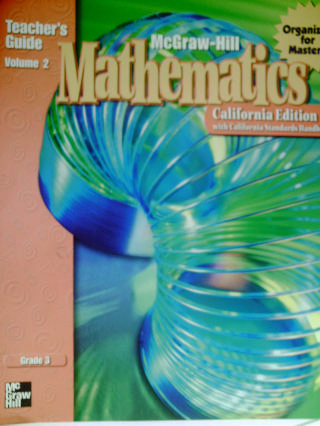 McGraw-Hill Mathematics 3 TG Volume 2 (CA)(TE)(Spiral)