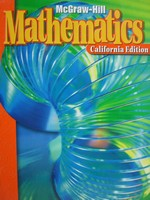 McGraw-Hill Mathematics 3 California Edition (CA)(H)