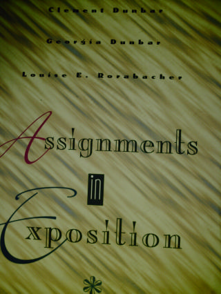 Assignments in Exposition 11th Edition (P) by Dunbar, Dunbar,