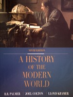 A History of the Modern World 9th Edition (H) by Palmer, Colton