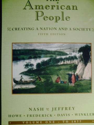 American People 5e Volume 1 To 1877 (P) Review Copy