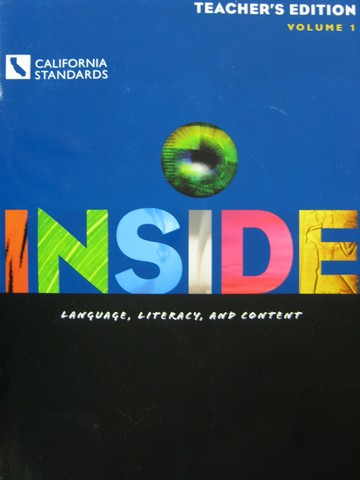 Inside Level C TE Volume 1 (CA)(TE)(Spiral) by Moore, Short,
