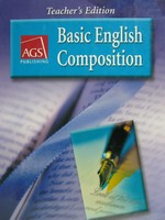 AGS Basic English Composition TE (TE)(H) by Bonnie L Walker