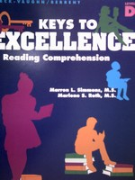 Keys to Excellence in Reading Comprehension D (P) by Roth,
