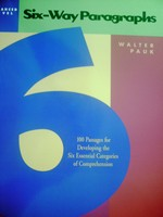 Six-Way Paragraphs Advanced Level 3rd Edition (P) by Walter Pauk