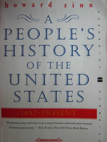 A People's History of the United States 1492 - Present (P)
