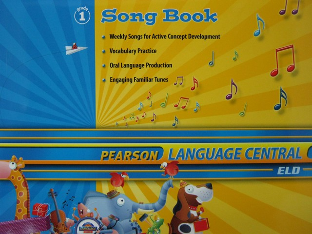 Pearson Language Central 1 Song Book (P)