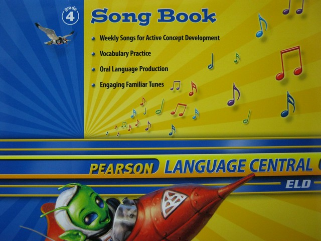 Pearson Language Central 4 Song Book (P)