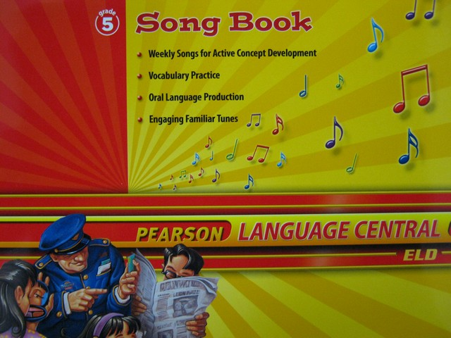 Pearson Language Central 5 Song Book (P)