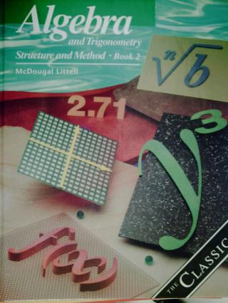 Mcdougal littell algebra and trigonometry book 2