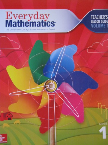 Everyday Mathematics CCSS 1 4th Edition TLG 1 (TE)(Spiral)