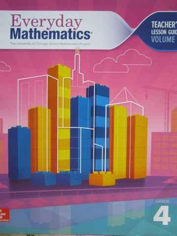Everyday Mathematics CCSS 4 4th Edition TLG 2 (TE)(Spiral)