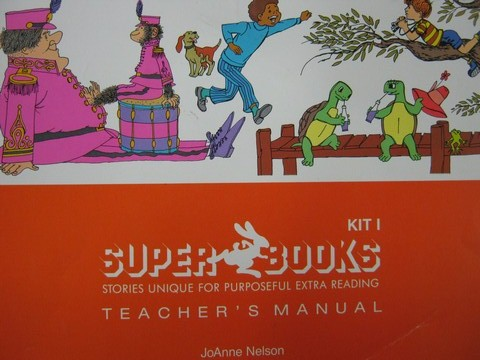 Superbooks Kit 1 TM (TE)(P) by JoAnne Nelson