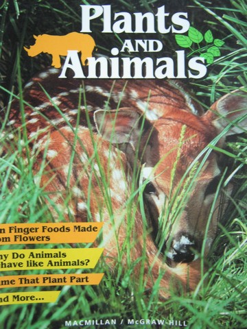Plants & Animals 4 (P) by Atwater, Baptiste, Daniel, Hackett,