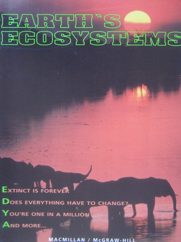 Earth's Ecosystems 7 (P) by Atwater, Baptiste, Daniel, Hackett,