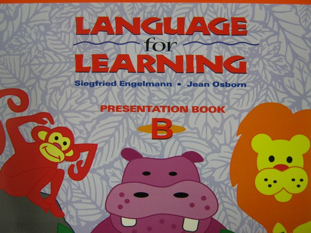 Language for Learning Presentation Book B (Spiral) by Engelmann,