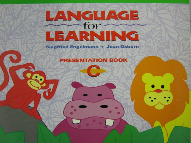 Language for Learning Presentation Book C (Spiral) by Engelmann,