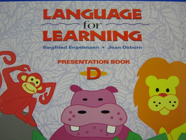 Language for Learning Presentation Book D (Spiral) by Engelmann, - Click Image to Close