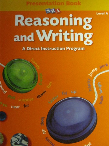 SRA Reasoning & Writing A Presentation Book (TE)(Spiral)