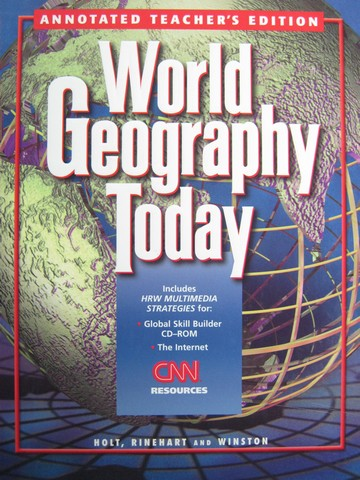 World Geography Today ATE (TE)(H) by Sager & Helgren