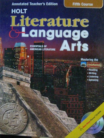 Literature & Language Arts 5th Course ATE (CA)(TE)(H) by Beers,