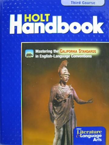 Holt Handbook 3rd Course CA H By John E Warriner