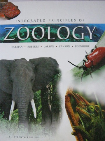 Integrated Principles of Zoology 13th Edition (H) by Hickman,