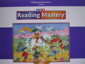 Reading Mastery 2 Classic Edition Presentation Book A (Spiral)