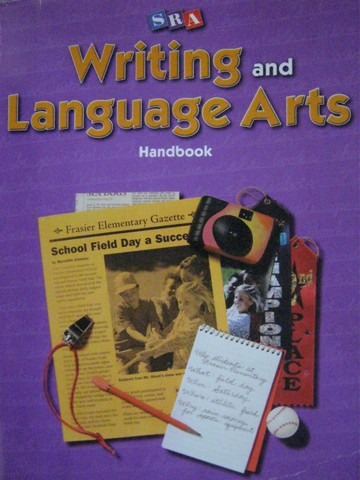 SRA Writing & Language Arts 4 Handbook (P) by Gillet, Temple,