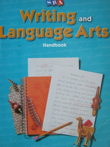 SRA Writing & Language Arts 5 Handbook (P) by Gillet, Temple