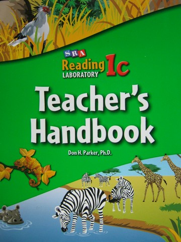 SRA Reading Laboratory 1c Teacher's Handbook (TE)(P) by Parker