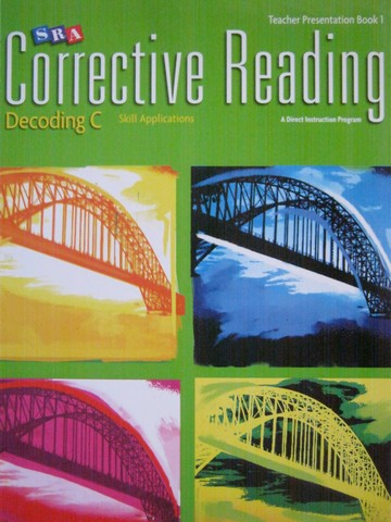 SRA Corrective Reading Decoding C TP Book 1 (TE)(Spiral)