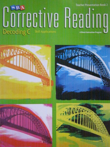 SRA Corrective Reading Decoding C TP Book 2 (TE)(Spiral)