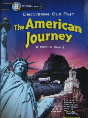 American Journey To World War 1 (CA)(H) by Appleby, Brinkley,