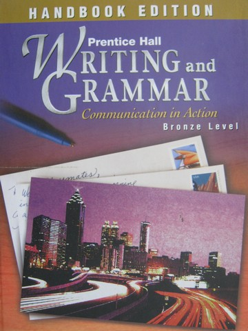 Writing & Grammar Bronze Handbook Edition (H) by Carroll,